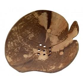 Porte-savon noix de coco