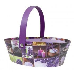 Lavender decor basket
