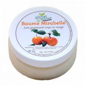 Super-soft mirabelle balm