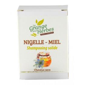 Shampooing solide - Nigelle et Miel