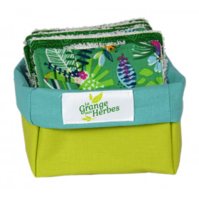 Reusable make-up remover wipes