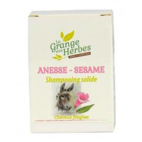 Shampooing solide - lait d'ânesse et Sésame
