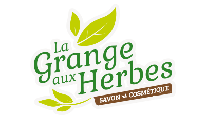 Logo La Grange aux Herbes, savons et cosmétiques bio